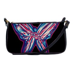 Neon butterfly Shoulder Clutch Bags