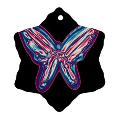 Neon butterfly Ornament (Snowflake)