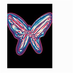 Neon butterfly Large Garden Flag (Two Sides)