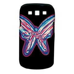 Neon butterfly Samsung Galaxy S III Classic Hardshell Case (PC+Silicone)