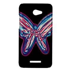 Neon butterfly HTC Butterfly X920E Hardshell Case