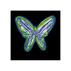 Green neon butterfly Acrylic Tangram Puzzle (4  x 4 )