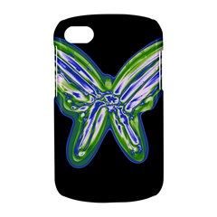 Green neon butterfly BlackBerry Q10