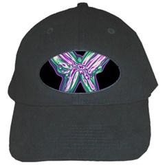 Neon butterfly Black Cap