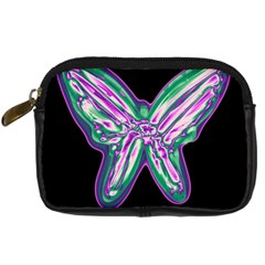 Neon butterfly Digital Camera Cases
