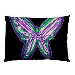Neon butterfly Pillow Case (Two Sides)