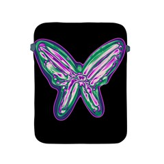 Neon butterfly Apple iPad 2/3/4 Protective Soft Cases