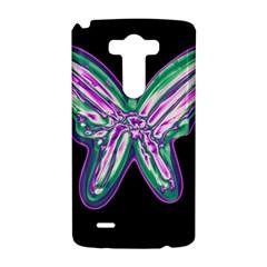 Neon butterfly LG G3 Hardshell Case