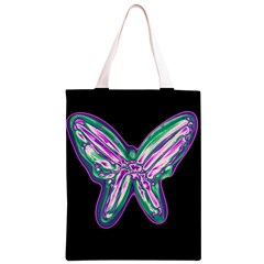 Neon butterfly Classic Light Tote Bag