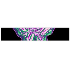 Neon butterfly Flano Scarf (Large)