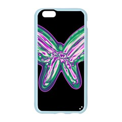 Neon butterfly Apple Seamless iPhone 6/6S Case (Color)