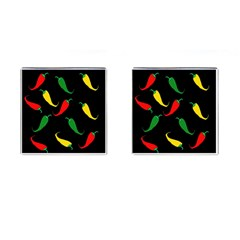 Chili peppers Cufflinks (Square)