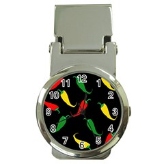 Chili peppers Money Clip Watches