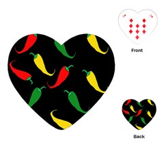 Chili peppers Playing Cards (Heart)