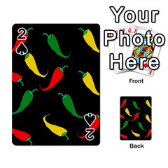 Chili peppers Playing Cards 54 Designs