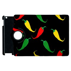 Chili peppers Apple iPad 3/4 Flip 360 Case