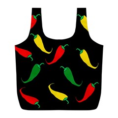 Chili peppers Full Print Recycle Bags (L)