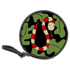 Red cartoon snake Classic 20-CD Wallets