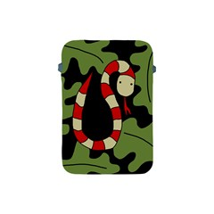 Red cartoon snake Apple iPad Mini Protective Soft Cases