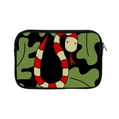 Red cartoon snake Apple iPad Mini Zipper Cases