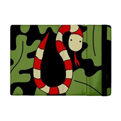 Red cartoon snake iPad Mini 2 Flip Cases