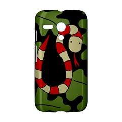 Red cartoon snake Motorola Moto G