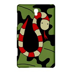 Red cartoon snake Samsung Galaxy Tab S (8.4 ) Hardshell Case