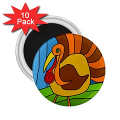 Thanksgiving turkey  2.25  Magnets (10 pack)