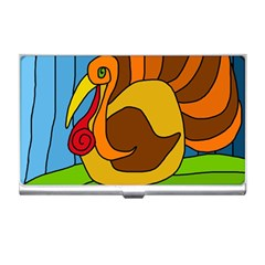 Thanksgiving turkey  Business Card Holders