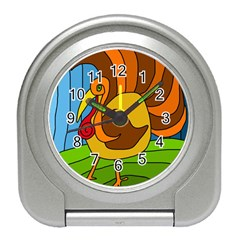 Thanksgiving turkey  Travel Alarm Clocks