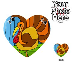Thanksgiving turkey  Playing Cards 54 (Heart)
