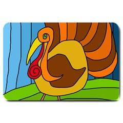 Thanksgiving turkey  Large Doormat