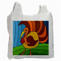 Thanksgiving turkey  Recycle Bag (Two Side)