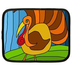 Thanksgiving turkey  Netbook Case (XL)