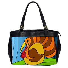 Thanksgiving turkey  Office Handbags (2 Sides)