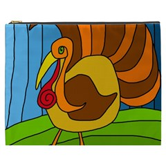 Thanksgiving turkey  Cosmetic Bag (XXXL)