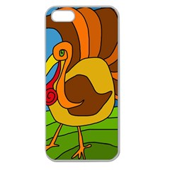 Thanksgiving turkey  Apple Seamless iPhone 5 Case (Clear)