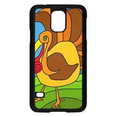 Thanksgiving turkey  Samsung Galaxy S5 Case (Black)