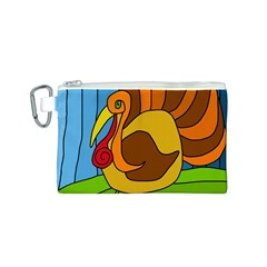 Thanksgiving turkey  Canvas Cosmetic Bag (S)