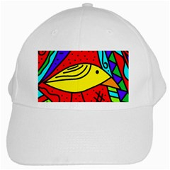 Yellow bird White Cap