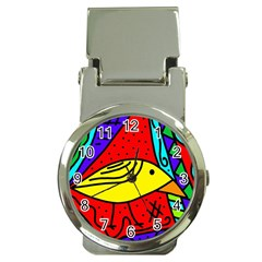 Yellow bird Money Clip Watches