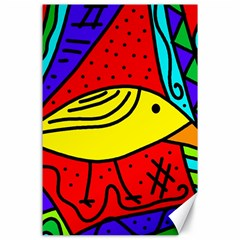 Yellow Bird Canvas 24  X 36