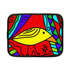 Yellow bird Netbook Case (Small)