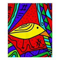 Yellow bird Shower Curtain 60  x 72  (Medium)