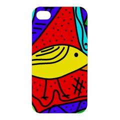 Yellow bird Apple iPhone 4/4S Hardshell Case