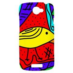 Yellow bird HTC One S Hardshell Case