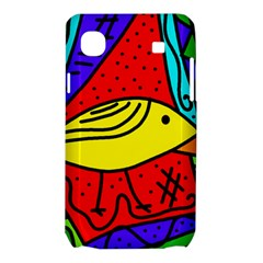 Yellow bird Samsung Galaxy SL i9003 Hardshell Case
