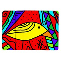 Yellow bird Samsung Galaxy Tab 10.1  P7500 Flip Case
