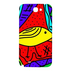 Yellow bird Samsung Note 2 N7100 Hardshell Back Case