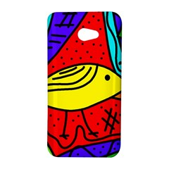 Yellow bird HTC Butterfly S/HTC 9060 Hardshell Case